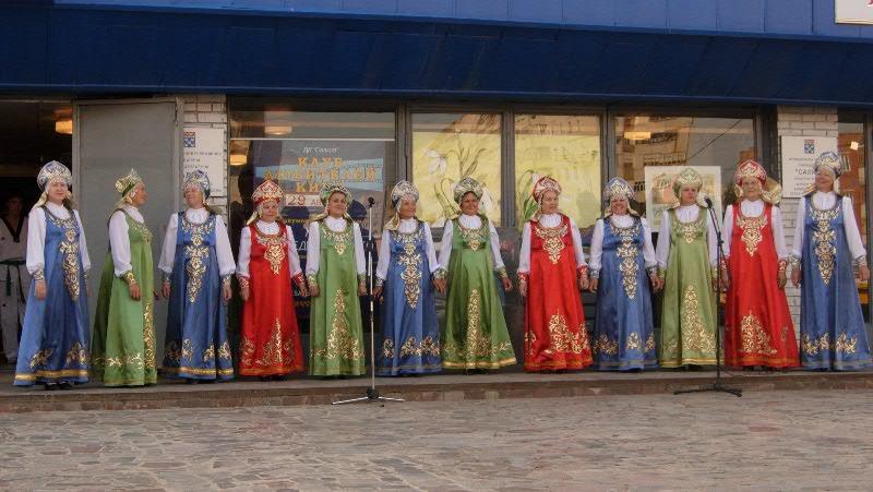 Сценический русский костюм для хора